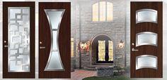 contemporary front door handles | Front Entrance Doors | Door Handle | Entry Door Glass Inserts ...