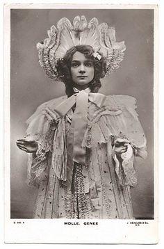 Danish dancer Adeline Genée (1878-1970), 1900s