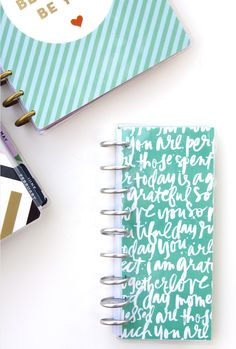 two ideas for what to do waith your extra Happy Planner™ pages by mambi Design Team member Jennie McGarvey   me & my BIG ideas