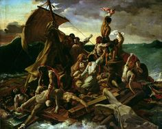 The Raft of the Medusa - Theodore Gericault