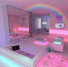 16 Geniales Ideas Para Decorar Tu Habitacion Con Pequenas Lucecitas - Como-decorar-un-cuarto-juvenil-femenino