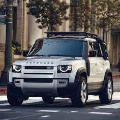 New Defender, Land Rover Defender 110, Landrover Defender, Car Brands Logos, Best Suv, Tata Motors, Jaguar Land Rover, Jeep 4x4, Car Travel
