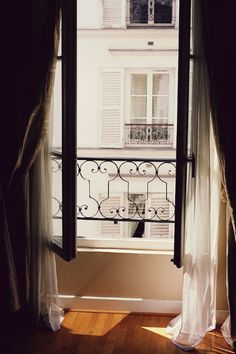 Reminds me of our apartment windows in Paris.