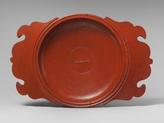 Plate, mid-2nd century A.D.; Mid-Imperial  Signed by Sabinianus  Roman  Terracotta; East Gaulish terra sigillata ware. Yes, you read that right. Mid-2nd century A.D.!!