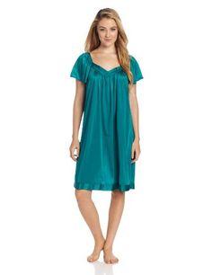 Industries Needs — Vanity Fair Women's Short Flutter Sleeve Gown...