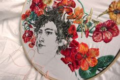 Embroidery by Sol Kesseler