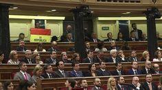 El senador de la bandera republicana desvincula a Unidos Podemos de su gesto