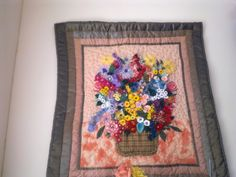 Flowers, flowers, flowers quilt by SandScraps from the quiltingboard.com