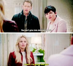 """I'm giving into HOPE"" - 5x11 ""Swan Song"" #OnceUponATime #ouat #DarkOnes #DarkSwan #DarkHook #CaptainSwan"