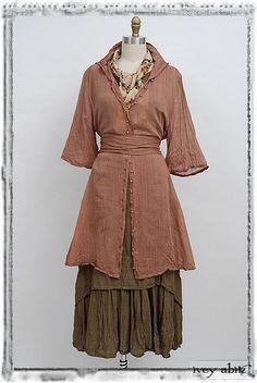 Clotaire Coat Dress dr-clotaire-cd - Ivey Abitz Bespoke
