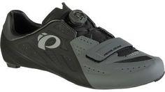 Pearl Izumi ELITE Road V5 Cycling Shoe - Men's Black/Shadow Grey 41.0