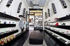 Step by Step sneakers boutique by yet|matilde, Turin store design