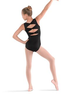 Bloch Girls Bow Back Tank Leotard