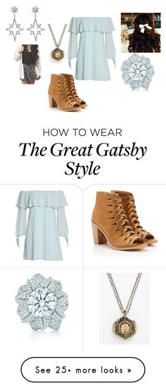 """Roni"" by gilliski on Polyvore featuring Sam Edelman, Tiffany & Co. and Apples & Figs Great Gatsby Fashion, 20s Fashion, The Great Gatsby, Fashion Show, Gatsby Style, Figs, Summer Wear, Apples, Tiffany"