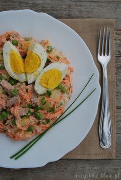 Sałatka ziemniaczano-tuńczykowa