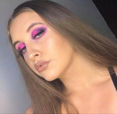 Cut Crease, Becca, Pink Purple, Septum Ring, Makeup Looks, Make Up, Photo And Video, Instagram, Fashion