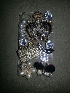 Juicy Couture inspired 4 4s Iphone case by UShopaholic on Etsy, $19.99