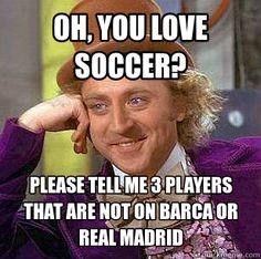 Oh You Love Soccer? #Soccer #memes Beckham-Paris. Wambach-New York. Solo-Seattle #soccermemes