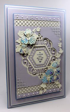Happy Tuesday,   I promised my first sneak peak from the new range off Craft dies by Sue Wilson for Creative expressions today. These wil...