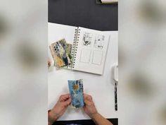 Artist Trading Cards, Stencil Designs, Art Tutorials, Stencils, Learning, Storage, Art Journals, Collage, Artists