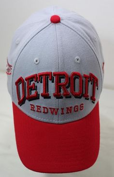 undefined New Era 39thirty, Nhl, Detroit, Signs, Best Deals, Hats, Ebay, Hat, Signage