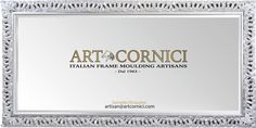 Authentic Artistic Italian Craftsmanship - since 1963 Supplying mainly resellers for decades we are now offering you the opportunity to purchase directly from us. Old school Master Artisans of Classic- and Contemporary Gold and Silver Gilded Wood-Frames for Paintings and Mirrors.