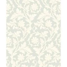 Buy the York Wallcoverings Palest Sea Foam Green / Pale Cream / Linen Direct. Shop for the York Wallcoverings Palest Sea Foam Green / Pale Cream / Linen Blue Book Tonal Damask Wallpaper and save. Luxury Wallpaper, Damask Wallpaper, Pattern Wallpaper, Wallpaper Backgrounds, Bedroom Wallpaper, Custom Wallpaper, Wallpaper Roll, Transitional Wallpaper, Damask Decor
