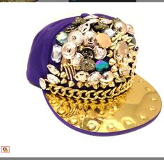 Nice blinged out hat Glitz And Glam 6a01ddde317