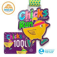 Virtual Race - Chicks On A Run 4 Miler