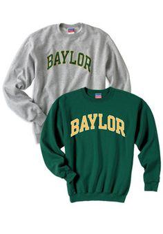 Champion® Baylor University Crewneck Sweatshirt for da pics