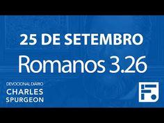 25 de setembro – Devocional Diário CHARLES SPURGEON #269