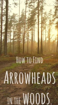 This is an excellent article with tips on where and how to find arrowheads when heading out into the woods! It also provides a ton of tips on how to find arrowheads in creeks and how to find arrowheads in fields. Arrowhead hunting is a fun way to spend time with the family outdoors! #RockSeeker #Arrowheads