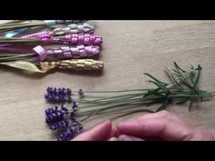 Great gift idea - How to make Woven Lavender Wands (Tutorial) - YouTube