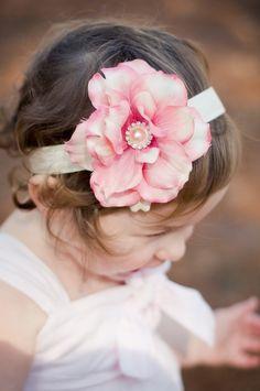 giant baby flower headbands