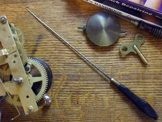 nice blog on antique clock repair. My grandfather was a pocket watch repairman.