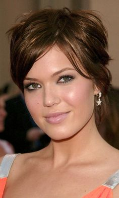 mandy moore short hair - Google Search