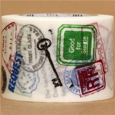 wide stamps signs mt Washi Masking Tape deco tape 1
