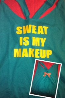 Sweat Is My Makeup Workout Tank Top by RufflesWithLove on Etsy, $22.00