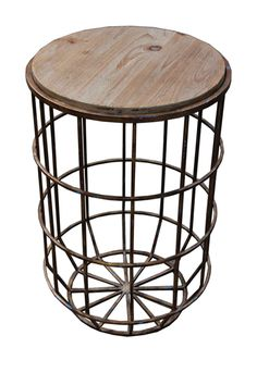 SAGEBROOK HOME - Medium Brown Koji Table at Nordstrom Rack. Free Shipping on orders over $100.