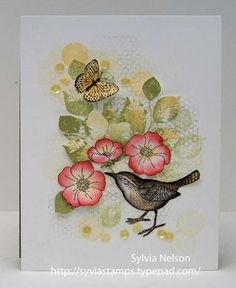 """This screams """"Spring! Happy!"""" to me. Nice mix of color and stamp sets. great balance & composition Blog-CQC-289"""