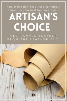Only at The Leather Guy. Stitching Leather, Leather Tooling, Tan Leather, Leather Gifts, Leather Jewelry, Diy Leather Projects, Stamping Tools, Sewing Leather, Unique Shoes