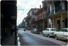Royal St., New Orleans — 1955 | by ElectroSpark