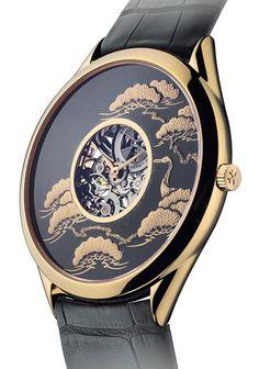 Vacheron Constantin   Pine Tree and Crane Watch   Rose Gold  