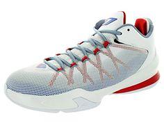 Nike CP3 VIII Grey White Mens Trainers 45 EU
