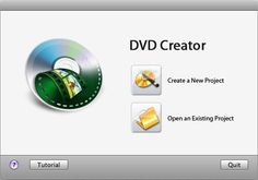 dvd creator main interface - Can download DVDs to your iPad for when you travel.