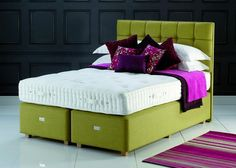 Hypnos Beds Hampton Supreme Divan Set from George Tannahill & Sons