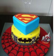 Super cute for a little (or big) boy superhero birthday party!