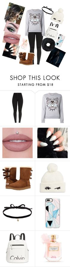 """Hannah Beth !?!"" by annaconley on Polyvore featuring Kenzo, UGG, Kate Spade, Joomi Lim, Casetify, Calvin Klein and Victoria's Secret"