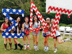 Sigma Delta Tau at University of Georgia #SigmaDeltaTau #SigDelt #BidDay #America #letters #sorority #UGA