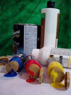 Ever wonder what Decorative Tole Painting supplies you need?  Find out the most recommended and how to use them.